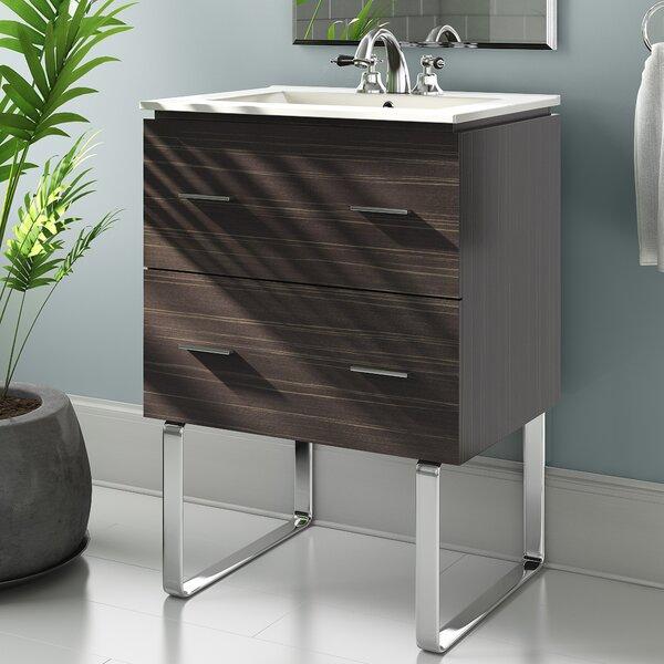 Kyra Modern 24 Single Bathroom Vanity by Orren Ellis