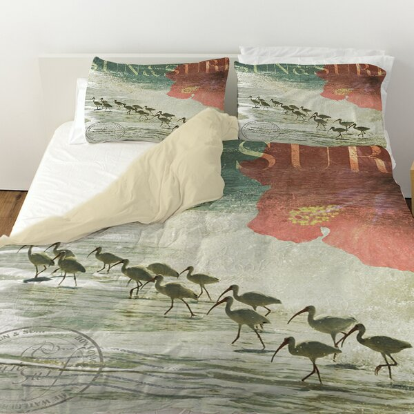 Sun and Surf Duvet Cover by Manual Woodworkers & Weavers