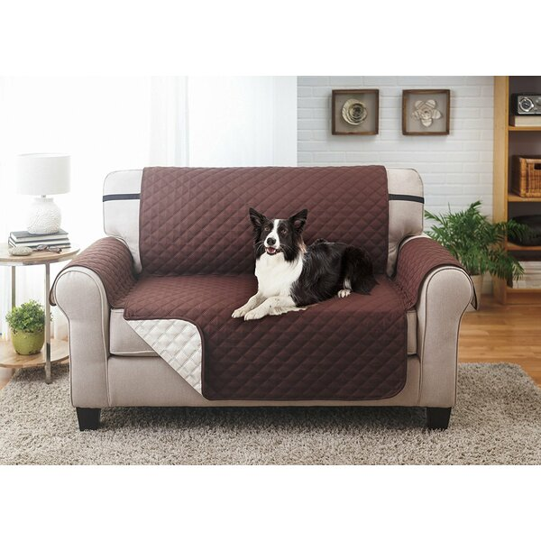 Reversible Loveseat Slipcover by Winston Porter