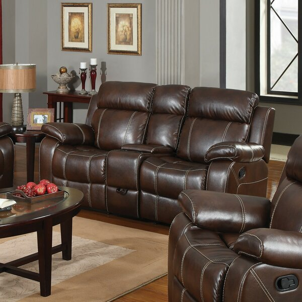 Cimarr Reclining Loveseat by Winston Porter