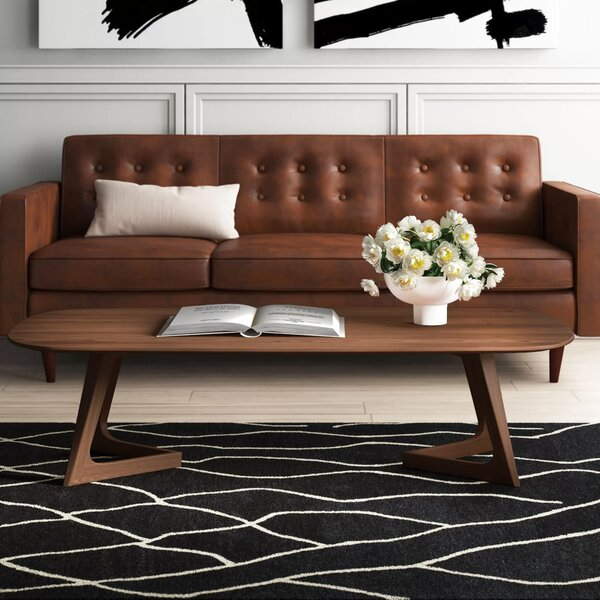 Mullaney Sled Coffee Table By Mercury Row