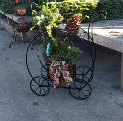 Parisienne Flower Cart Plant Stand by Artscapes