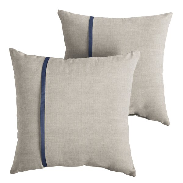 Coutu Indoor/Outdoor Throw Pillow (Set of 2) by 17 Stories