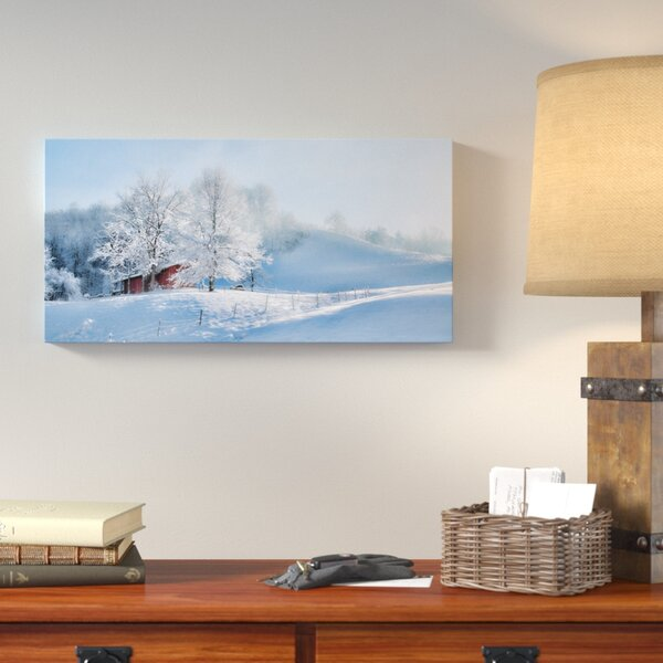 Morning Rays Against the Snow Photographic Print on Wrapped Canvas by Loon Peak