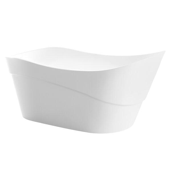 Kahl Series 67'' x 28'' Freestanding Soaking Bathtub by ANZZI