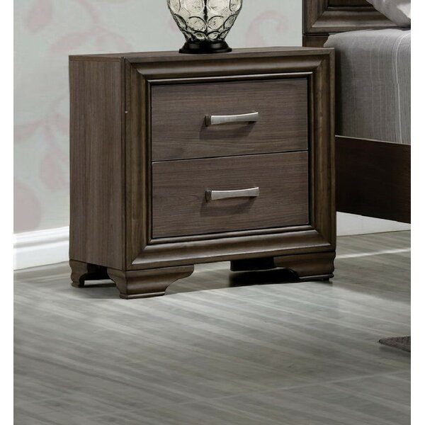 Layla 2 Drawer Nightstand by Foundry Select