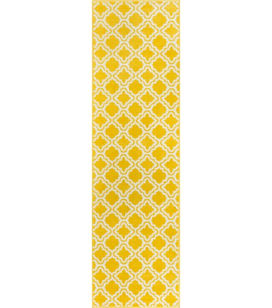 Helwig Calipso Yellow Area Rug by Viv + Rae