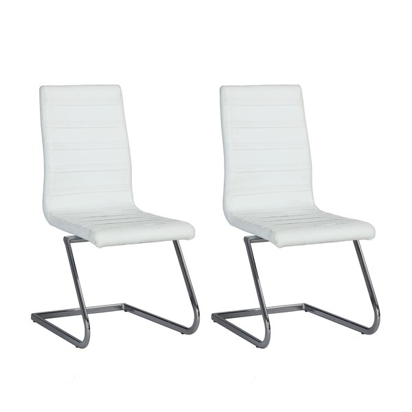 Janet Patio Dining Chair with Cushion (Set of 2) by Orren Ellis
