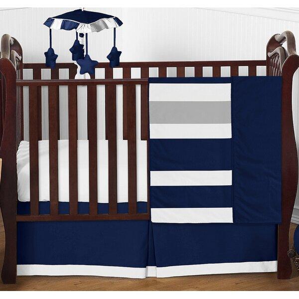 Stripe 4 Piece Crib Bedding Set by Sweet Jojo Designs