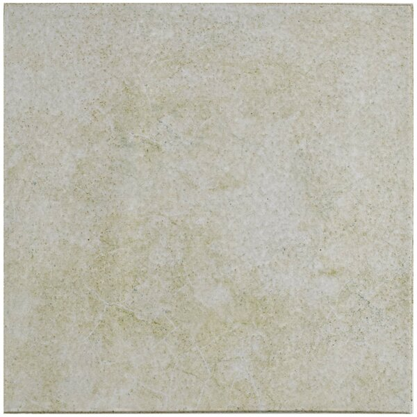 Shale Retro Quarry 12.75 x 12.75 Ceramic Field Tile in Blanco by EliteTile