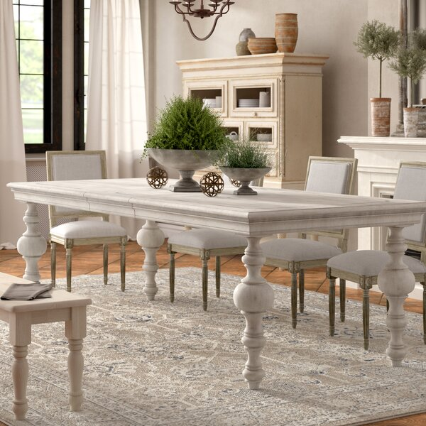 Best #1 Effie Extendable Dining Table By One Allium Way Great price