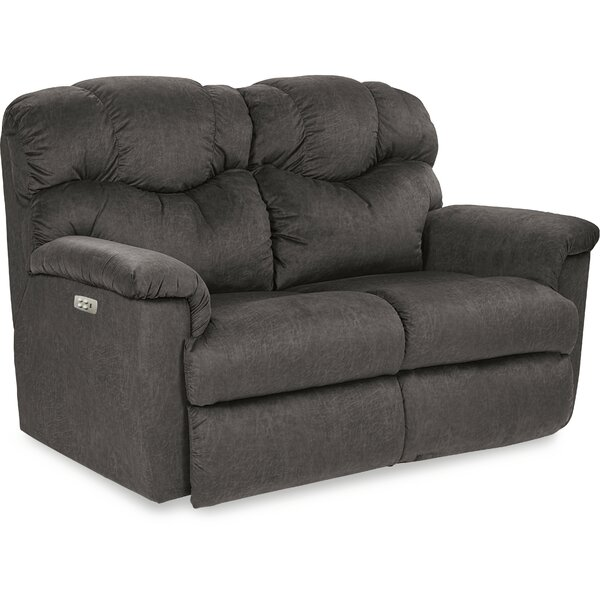 Lancer Reclining 64.5 Inches Pillow Top Arms Loveseat By La-Z-Boy