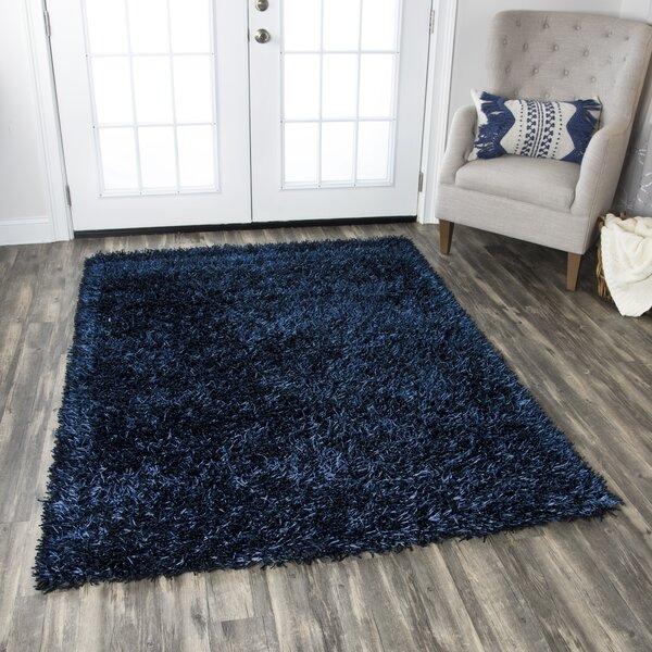 Kiera Handmade Blue Area Rug by The Conestoga Trading Co.