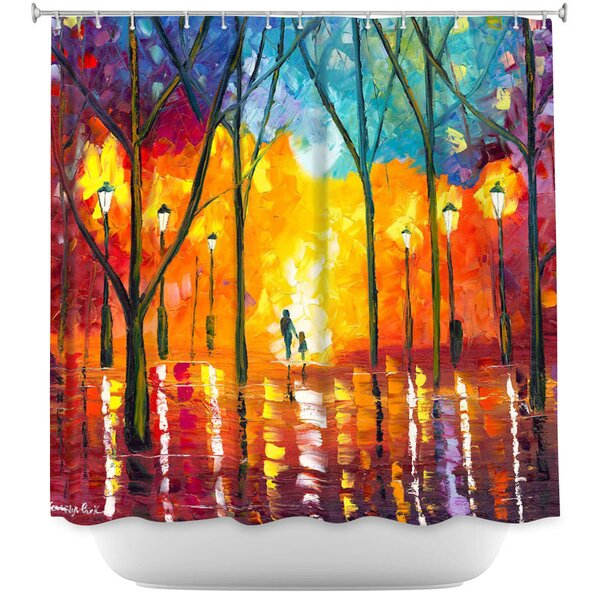 Guiding Light Shower Curtain by East Urban Home