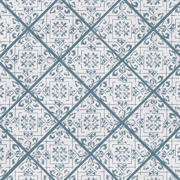 Melody Lotus 4 x 4 Porcelain Mosaic Tile
