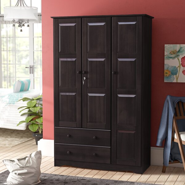 Primm Grand 3 Door Armoire By Winston Porter by Winston Porter Savings