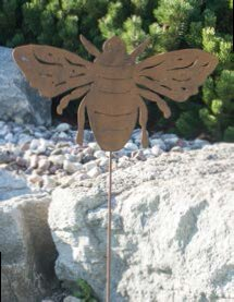Aracely Bumble Bee Pick Garden Stake by August Grove