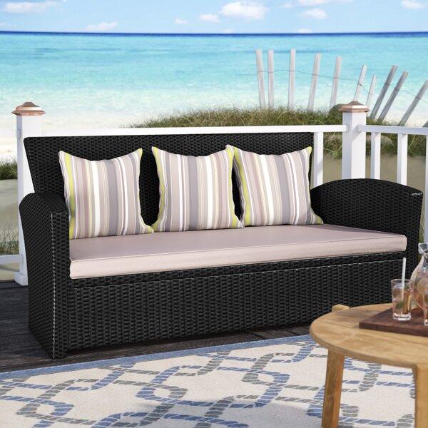 Valetta Patio Sofa with Cushions by Beachcrest Home Beachcrest Home