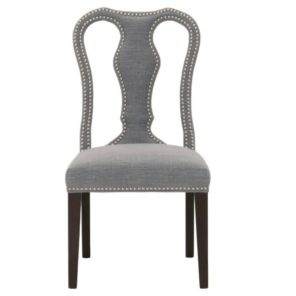 Mcgraw Wooden Upholstered Dining Chair (Set of 2) by Canora Grey