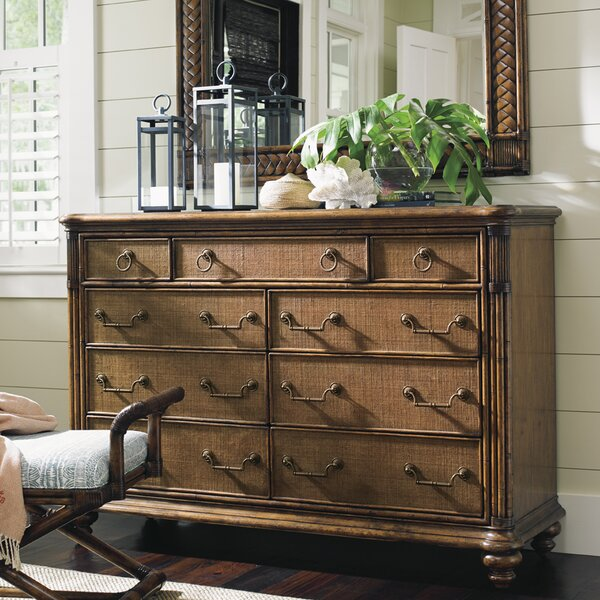 Bali Hai 9 Drawer Dresser by Tommy Bahama Home
