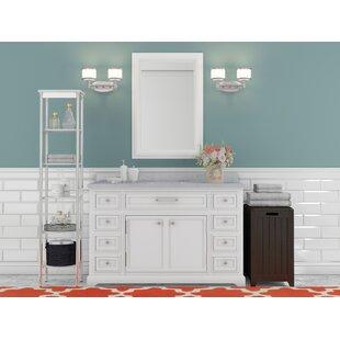 Bergin 48 Single Sink Bathroom Vanity Set ByThree Posts