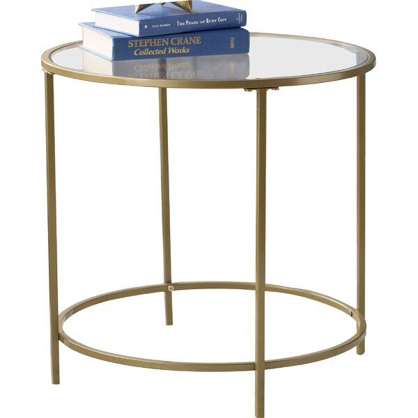 Casanova End Table by Mercury Row