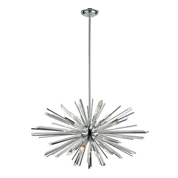 Kolb 8-Light Sputnik Sphere Chandelier by Everly Quinn Everly Quinn