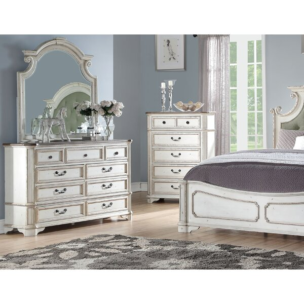 Indie 7 Drawer Dresser with Mirror by One Allium Way