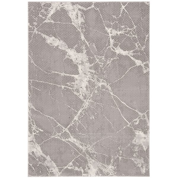 Kellogg Gray Area Rug by Wrought Studio