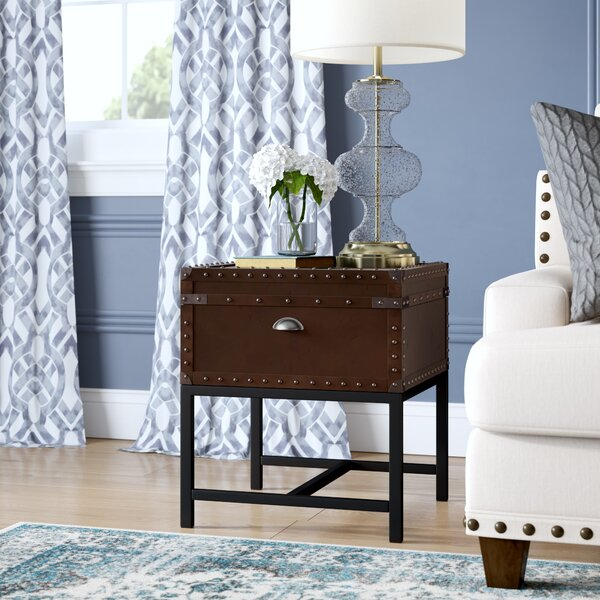 Ivy Hill End Table By Three Posts