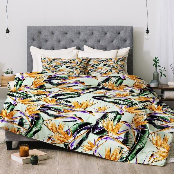 Marta Barragan Camarasa Floral Exotic Comforter Set