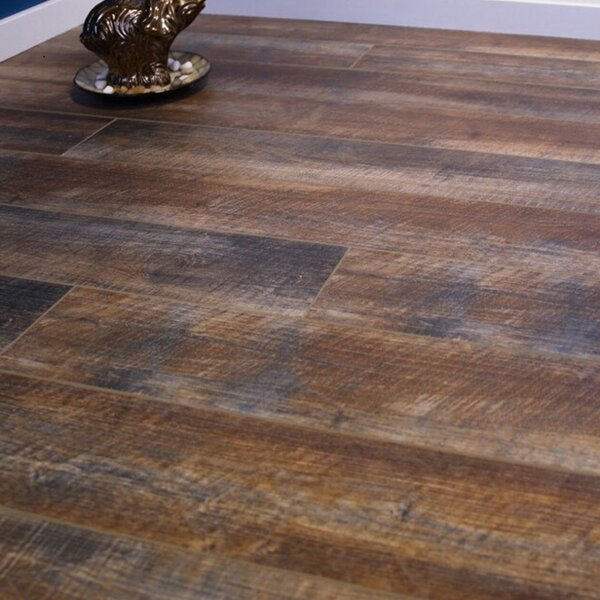 8 x 48 x 12mm Pine Laminate Flooring in Embossed by Islander Flooring