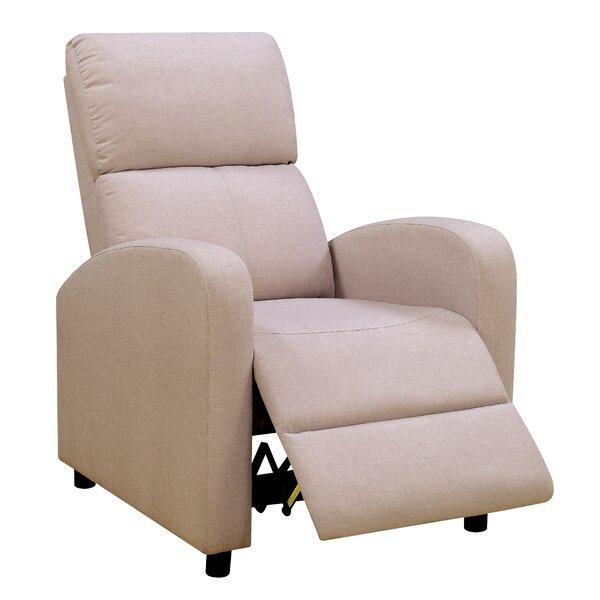 Chalfant Push Back Chair Manual Recliner [Red Barrel Studio]
