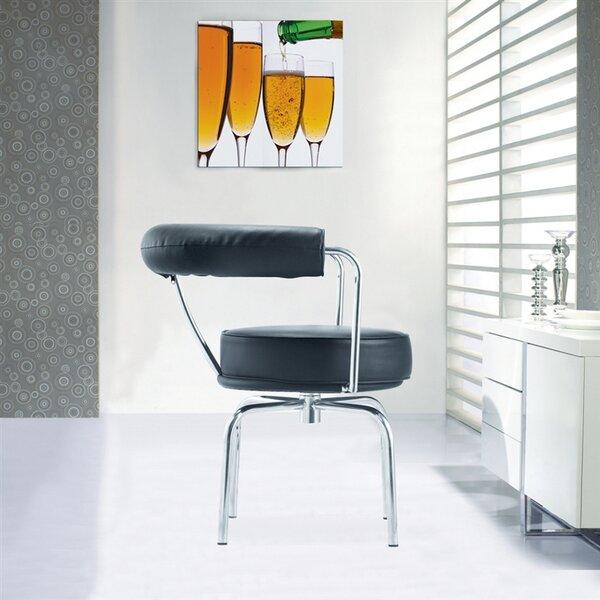 Swivel Armchair By Fine Mod Imports