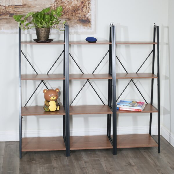 Hayse Miky Ladder Bookcase By 17 Stories