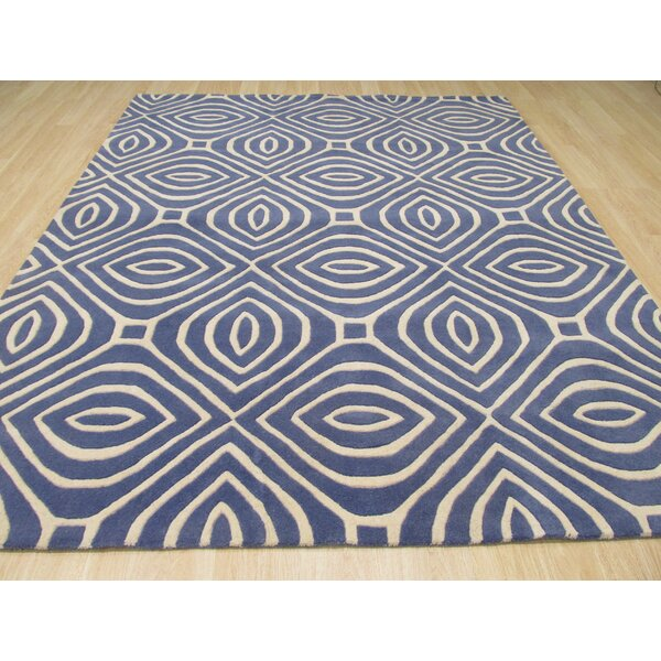 Wainwright Hand Tufted Blue Area Rug by The Conestoga Trading Co.