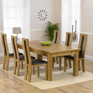 Essgruppe Ritual mit 6 Stühlen von Home Etc