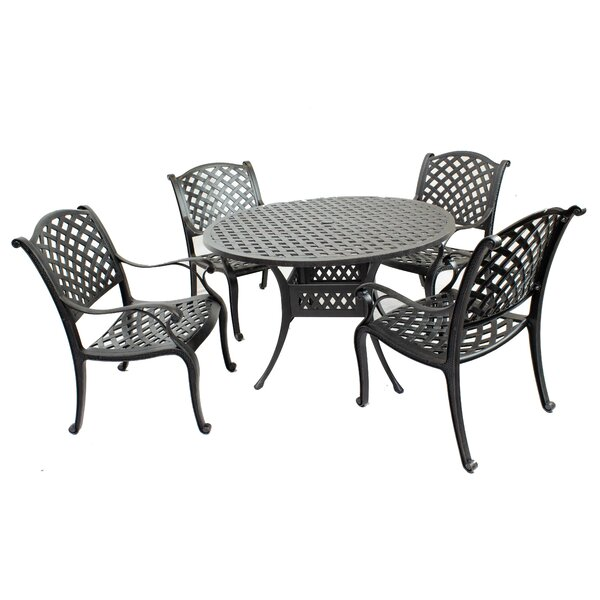 Peniste 5 Piece Dining Set by Canora Grey