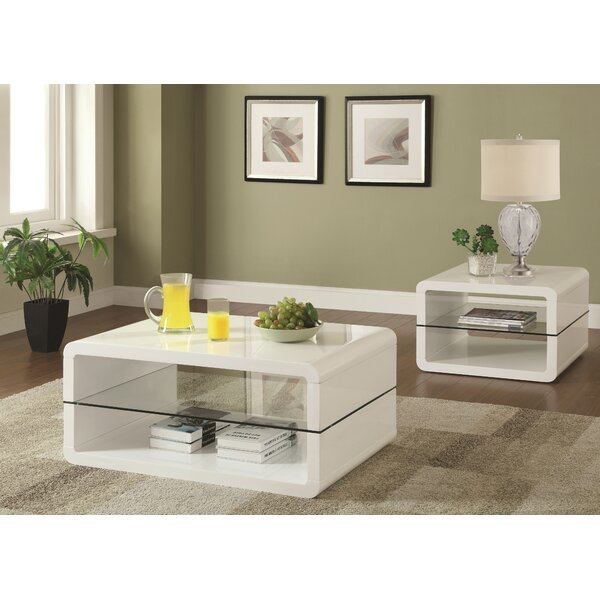 Albano 2 Piece Coffee Table Set by Latitude Run