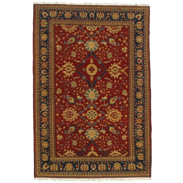 Pak Sumak Hand-Knotted Wool Rust Area Rug by Pasargad NY