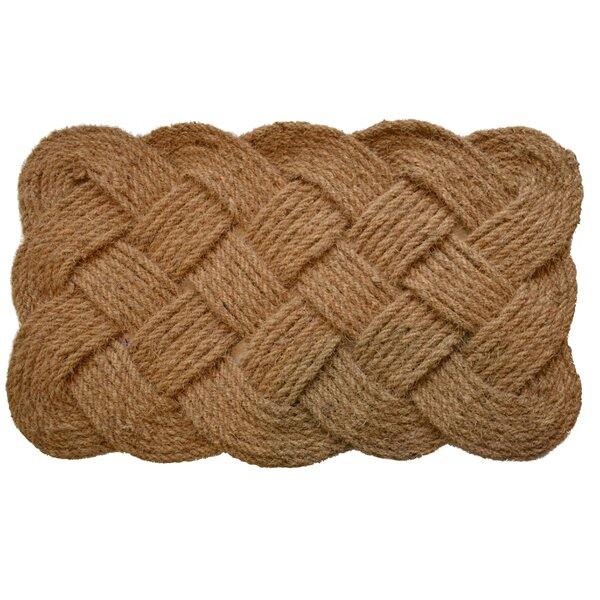 Alleyton Rope Doormat by Highland Dunes
