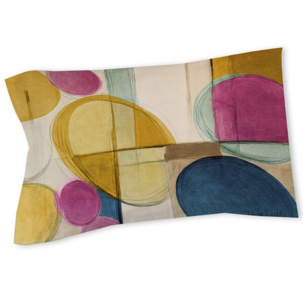 Abstract Sham by East Urban Home
