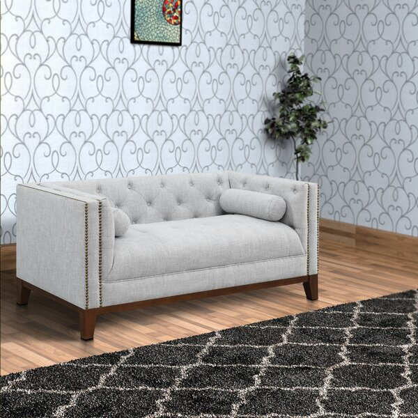 New Trendy Worthen Loveseat by Mercer41 by Mercer41