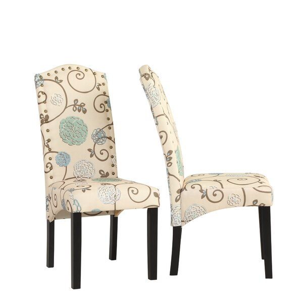 Havana Upholstered Dining Chair (Set Of 2) By Ophelia & Co.