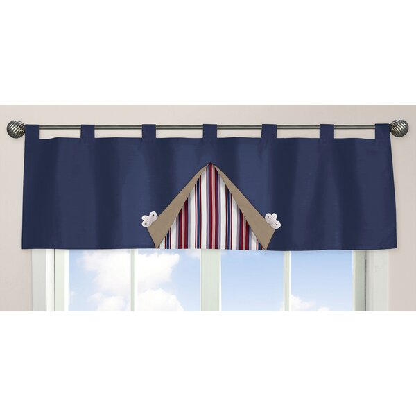 Nautical Nights 54 Curtain Valance by Sweet Jojo Designs