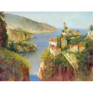 Vision of Amalfi Painting Print on Wrapped Canvas by Portfolio Canvas Decor