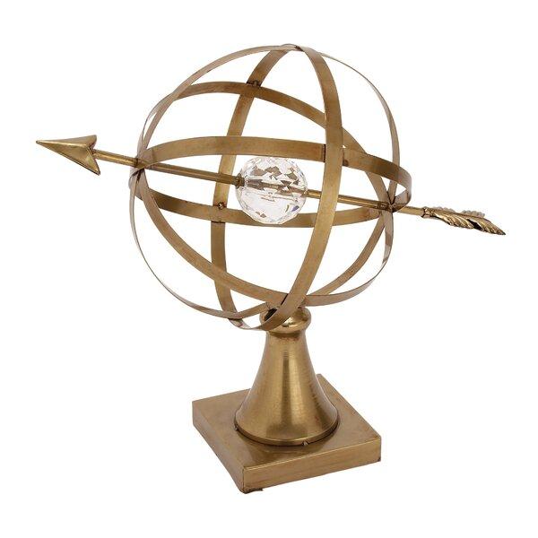 Metal Acrylic Globe by Cole & Grey