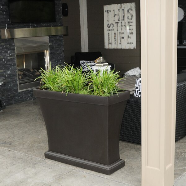 Bordeaux Plastic Planter Box by Mayne Inc.