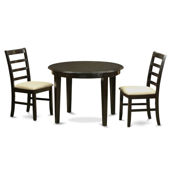 Hillhouse 3 Piece Dining Set by Red Barrel Studio Red Barrel Studio