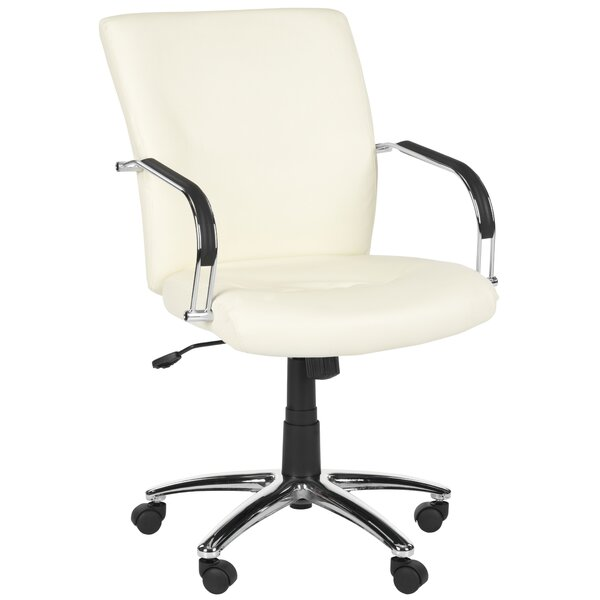 Lysette Mid-Back Desk Chair by Safavieh